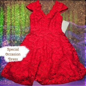 City Triangles Special Occasion Red Dress
